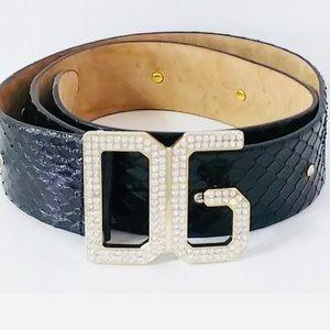 "Dolce & Gabbana DG Belt - 28""-33"""